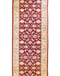 Ushak Wool S5103 Red/Iv - Runner