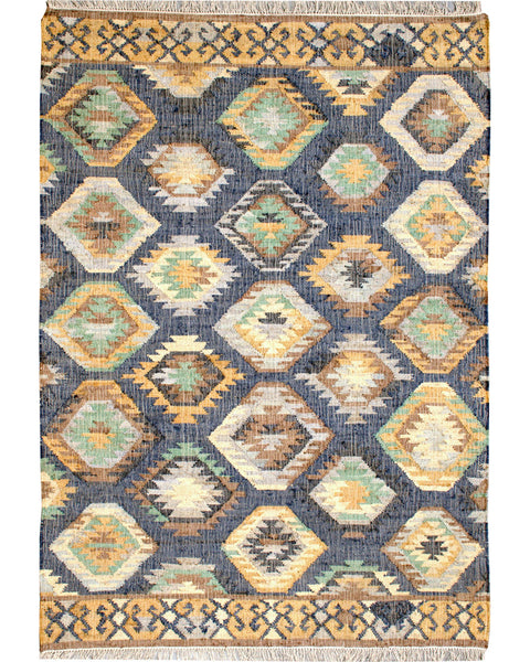 Kilim Jute JT-101 - Multiple Sizes