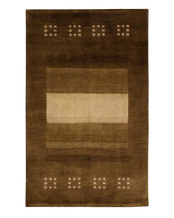 Gabbeh Lori Buff 7/40 Brown - Multiple Sizes