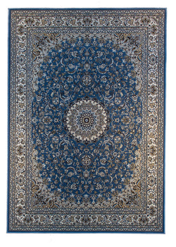 Monir 1199 Blue - Multiple Sizes