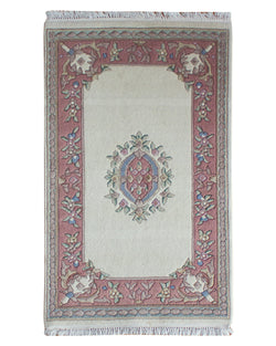 Sangam Ivory/Rose - Multiple Sizes