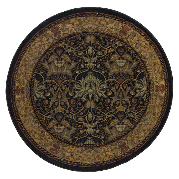 Sultano Black - Round - Multiple Sizes