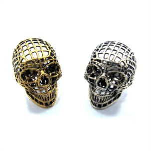 Han Cholo Mesh Skull Ring