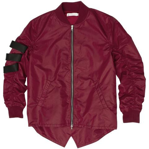 Reason- Thomkins Jacket Burgundy
