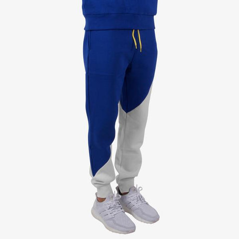 Dope- Crew Sweatpants- White/ Blue