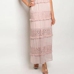 All Over Lace Maxi Gown