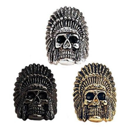 Han Cholo Indian Chief Ring
