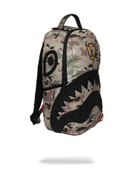 Multicam Rubber Black Shark Backpack Available at Atomic 1800 Stores.