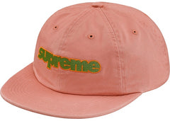 Supreme Connect Logo 6- Panel- Dusty Pink