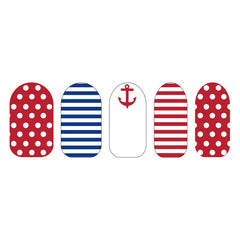 Nail Wraps Below Deck