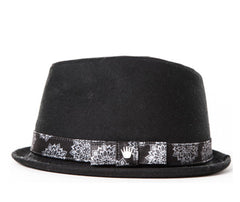 Vito Fedora In Black