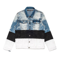 Vie Riche - Tri Colored Denim JKT
