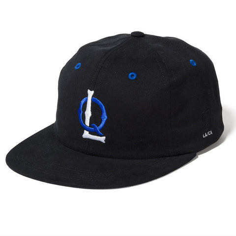 The Quiet Life- Ballpark Polo Hat Black