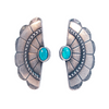 The 2Bandits- Concho Wing Earring