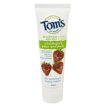 Tom's of Maine Silly Strawberry Toothpaste