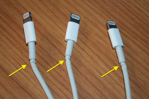 Stage 1 damage to Lightning Cables