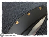 Custom Made Titanium Standoffs and Scale Screws for Zero Tolerance ZT0770