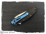 Custom Made Titanium Deep Carry Pocket Clip Made For Kershaw 1620 Scallion