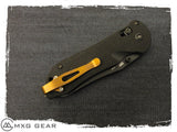 Custom Made Titanium Deep Carry Pocket Clip Made For Benchmade Knives