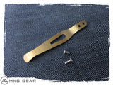 Custom Made Titanium Pocket Clip For Zero Tolerance Knives