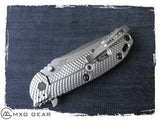 Custom Made Titanium Deep Carry Pocket Clip For Zero Tolerance Knives