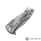 Custom Made Titanium Deep Carry Pocket Clip For Zero Tolerance ZT0900