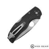 Titanium Deep Carry Pocket Clip For Spyderco Native 5 Lightweight FRN
