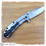 Custom Made Titanium Deep Carry Pocket Clip For Zero Tolerance ZT0566