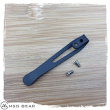 Custom Made Titanium Deep Carry Pocket Clip For Zero Tolerance ZT0450 ZT0450CF ZT0456