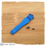 Custom Made Titanium Deep Carry Pocket Clip For Zero Tolerance ZT0620 ZT0630
