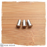 Custom Made Titanium Scale Nuts Standoffs for Rick Hinderer Knives XM-18 3""