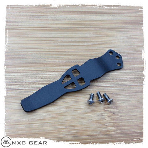 Custom Made Titanium Pocket Clip Made For Benchmade Knives