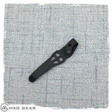 Custom Made Titanium Deep Carry Pocket Clip For Spyderco Southard