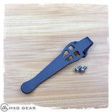 Custom Made Titanium Deep Carry Pocket Clip For Zero Tolerance ZT0801