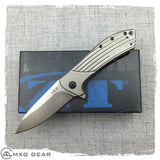New Zero Tolerance Rexford 0801 Titanium Flipper Knife