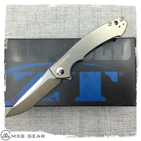 New Zero Tolerance 0450 Sinkevich Titanium Folding Knife