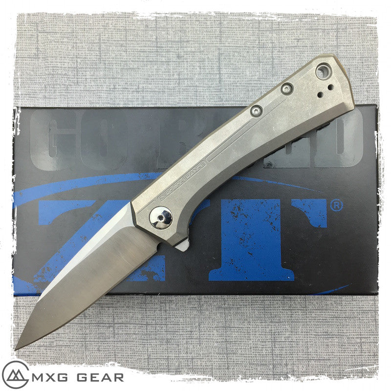 New Zero Tolerance 0808 Rexford KVT Titanium Folding Knife