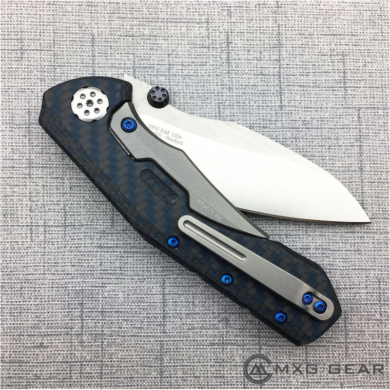 New Zero Tolerance 0850 with Custom Titanium Hardware