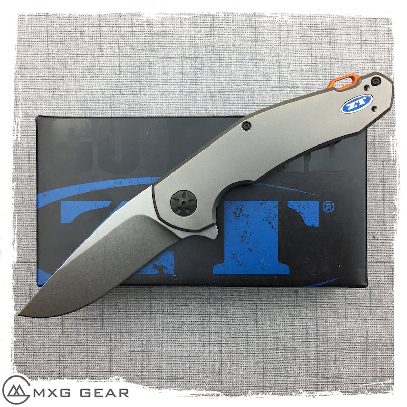 New Zero Tolerance 0220 Jens Anso Flipper Knife