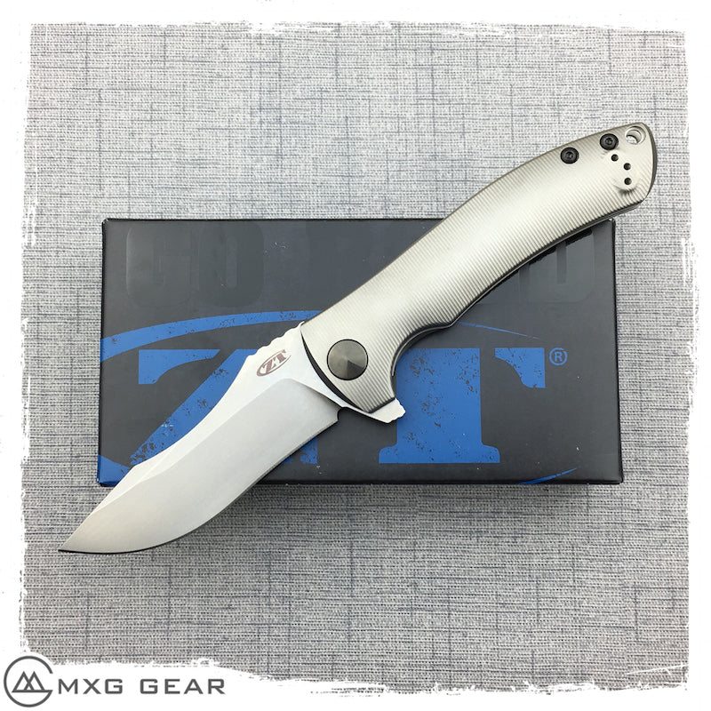 New Zero Tolerance Les George 0920 Flipper Knife