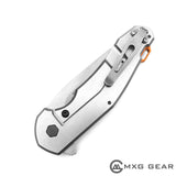 Custom Made Titanium Deep Carry Pocket Clip For Zero Tolerance ZT0220