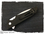 Custom Made Titanium Deep Carry Pocket Clip Made For Kershaw Knives