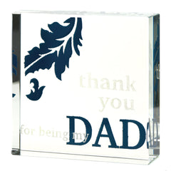 'Thank You Dad' Paperweight
