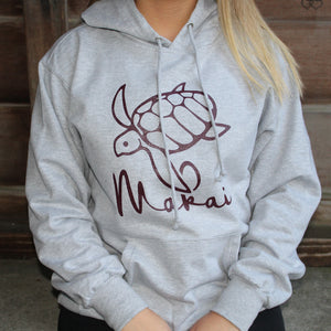 Heather Grey Makai Hoodie