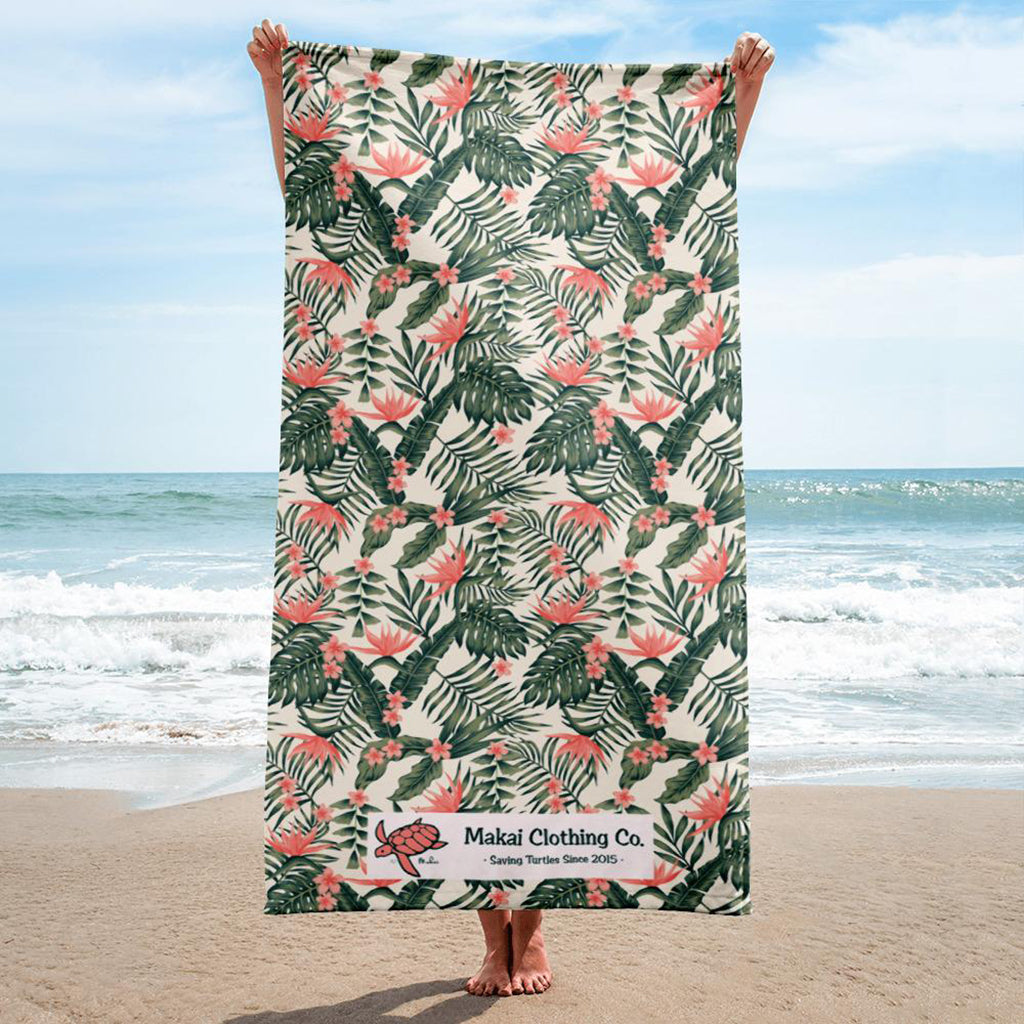 46e802e789f736 Topical Beach Towel