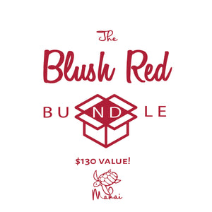 The Blush Red Bundle