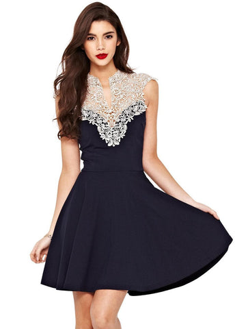 CUTE LACE HOT DRESS