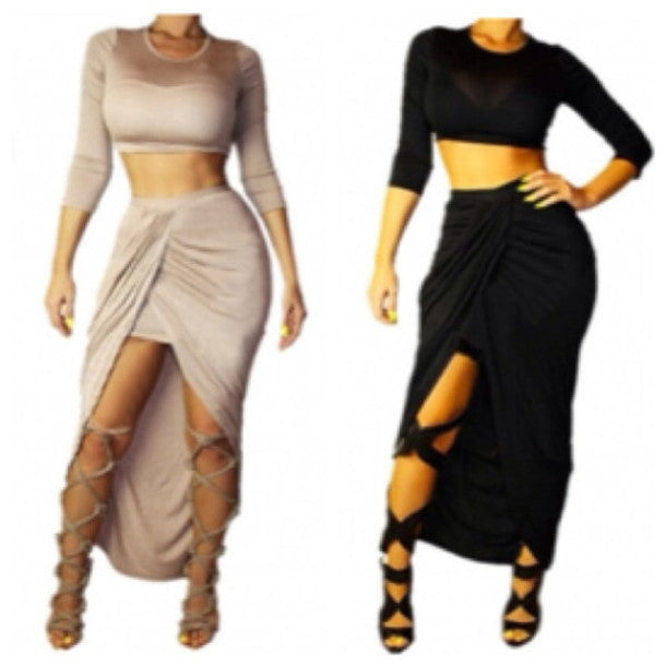 FASHION HOT CUTE TWO PIECE DRESS