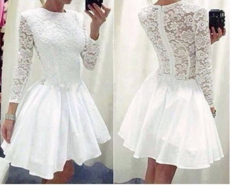 Fashion hot lace cute dress