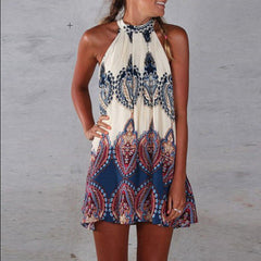 ON SALE HOT CUTE VEST DRESS TOTEM DRESS